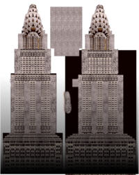 Chrysler building map