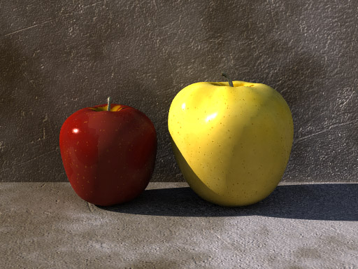 Free 3d Models Apple Pov Ray