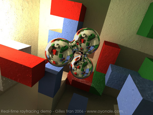 Raytracing en temps réel