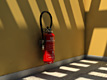 Fire extinguisher demo (Cinema 4D)